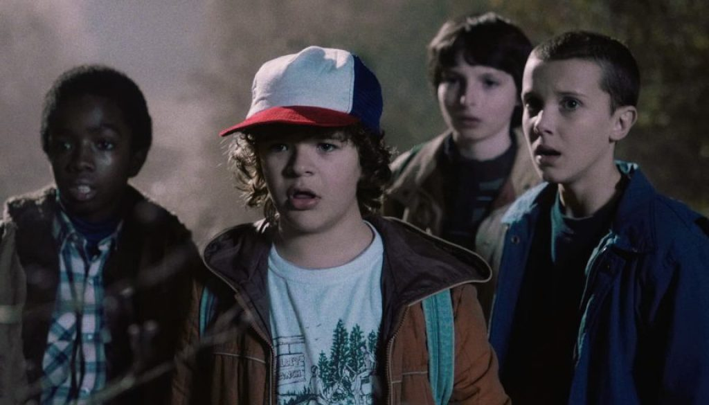 Strange Things boys and Eleven