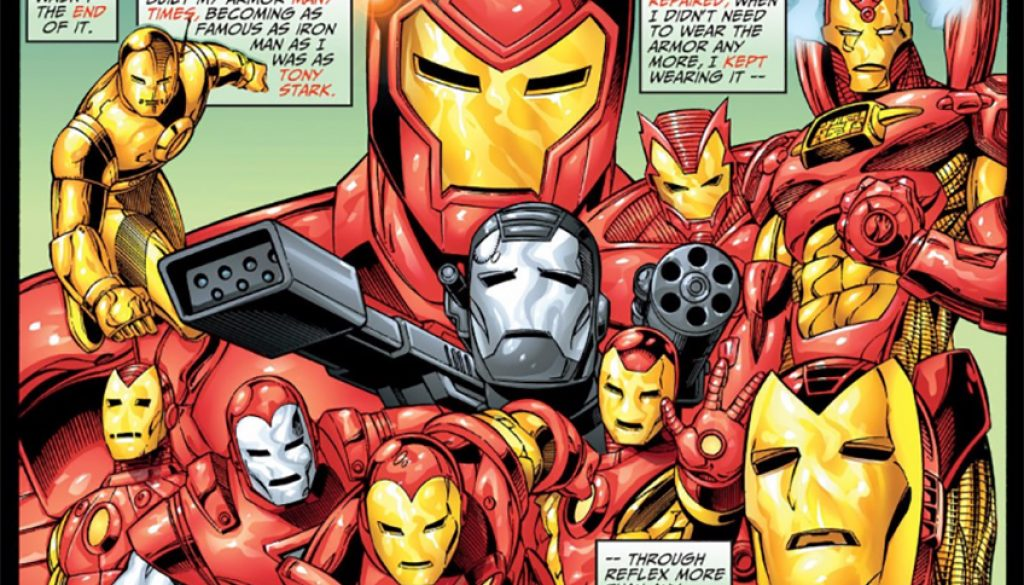 Iron Man Armors 1997
