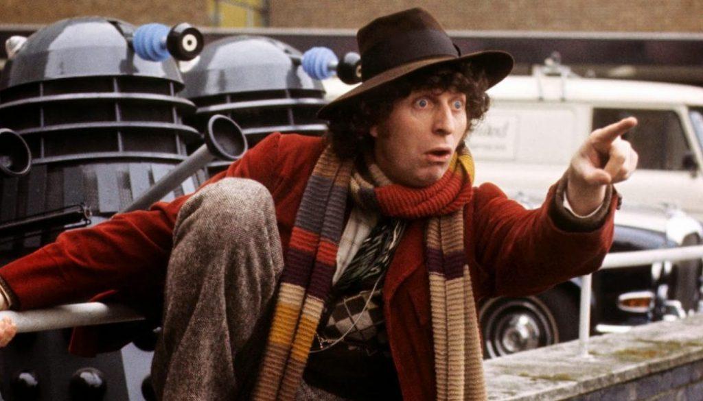 Tom Baker Fourth Doctor