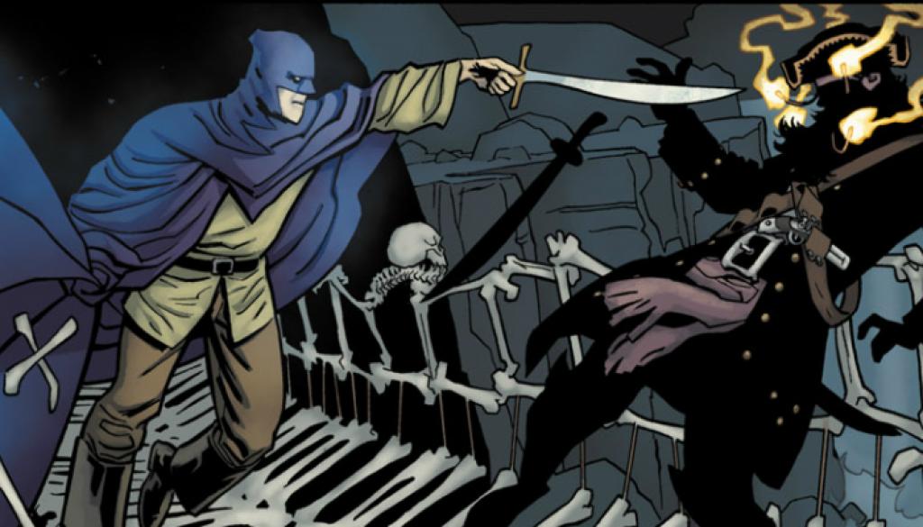 Blackbeard VS Bruce Wayne Black Pirate