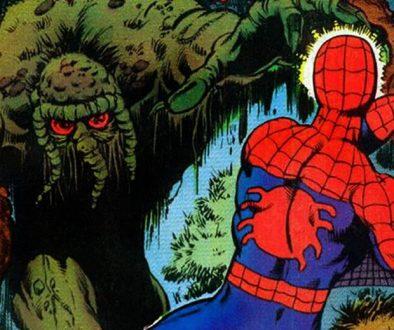 Man-Thing Spider-Man