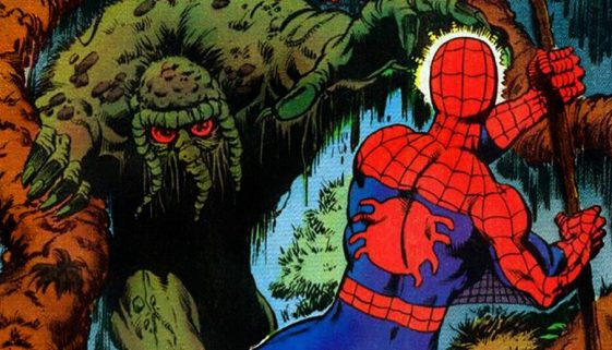 Man-Thing Spider-Man