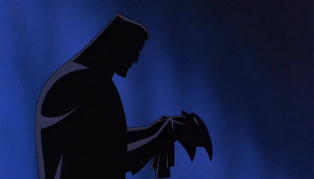 Batman TAS Bruce Mask Phantasm