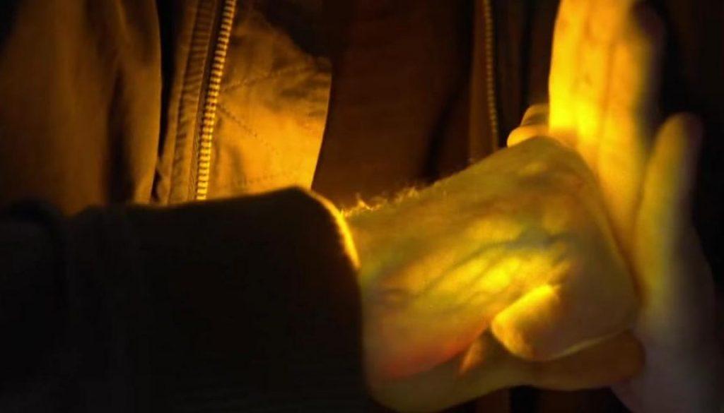 Iron Fist Glow Hand Netflix