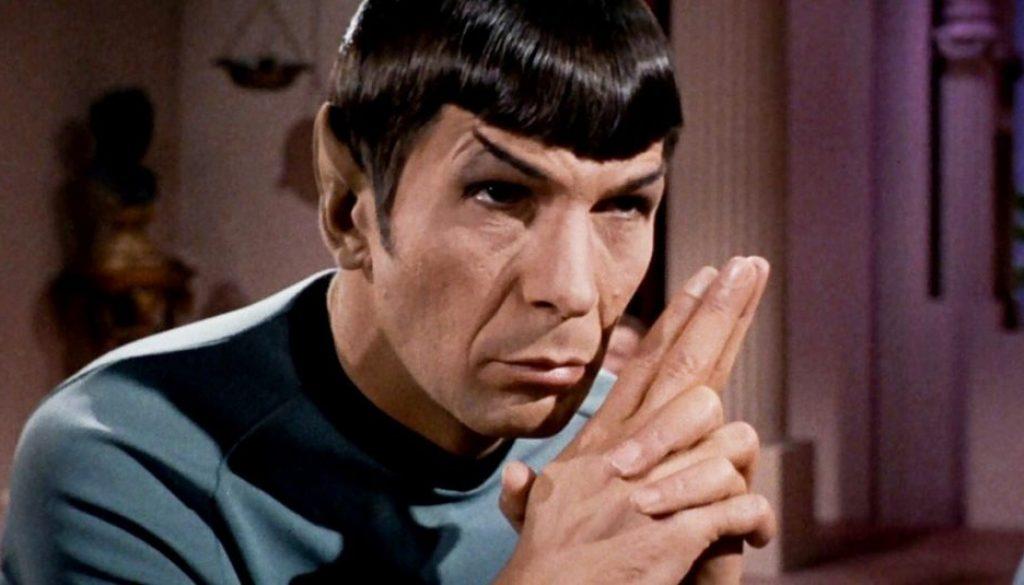 ST Spock Folded fingers