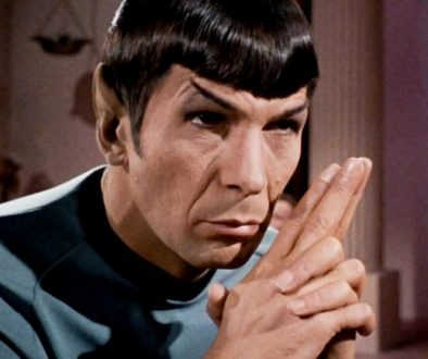 ST Spock Folded fingers