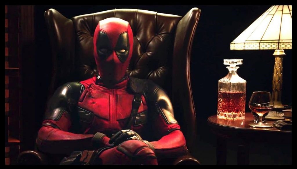 Deadpool Movie Announcement Chair